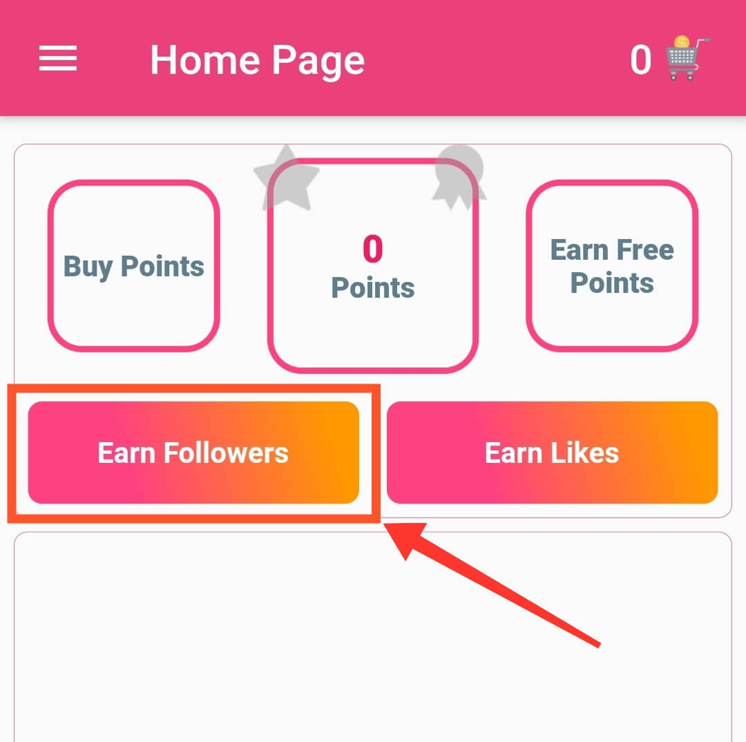 Earn Real Followers