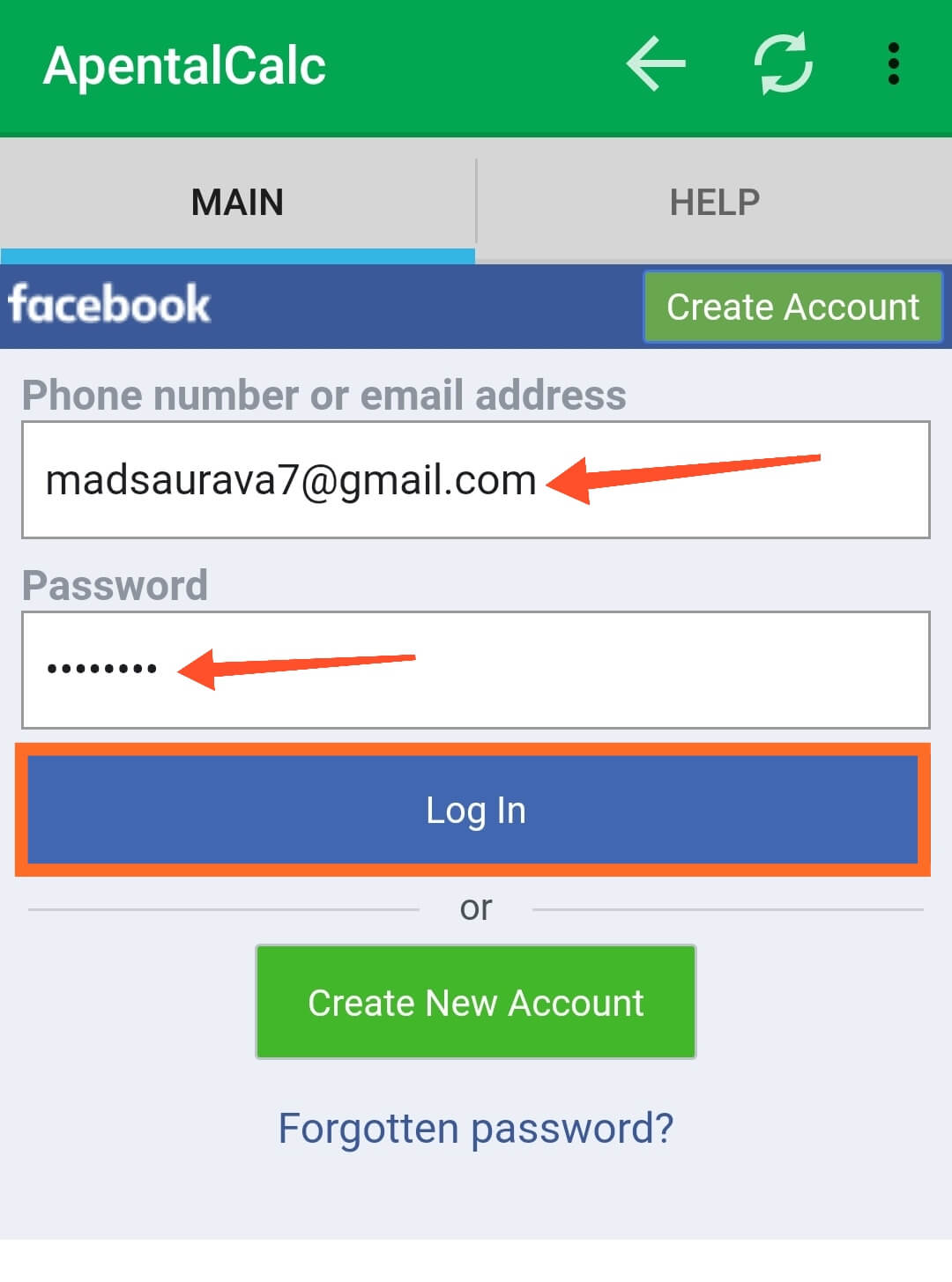 Login Your Fake Facebook Account Here